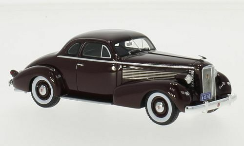 La Salle Series 50 Coupé  Dark rosso  1937  Neo Scale 1:43 / 45760