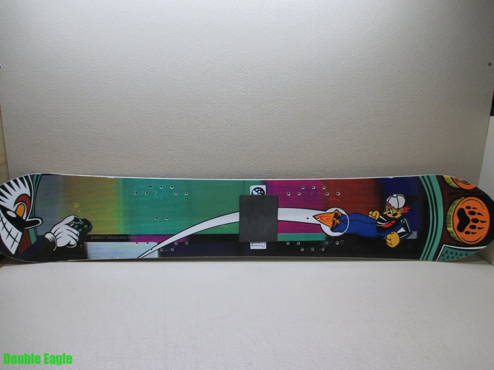 Vintage Barfoot  Jon Boyer Snowboard 1994  CH162  Awesome Graphics