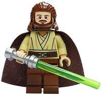 LEGO STAR WARS JEDI MASTER MINIFIGURE MINIFIG QUI-GON JINN QUI GON 7961