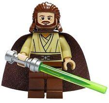 LEGO STAR WARS JEDI MASTER MINIFIGURE QUI-GON JINN QUI GON 7961