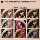 Music You All by Cannonball Adderley/Cannonball Adderley Quintet (CD, May-2016, Real Gone Music)