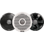 """thumbnail 2 - NEW Pair FUSION MS-FR6022 6"""" 2 way Speakers w/ 3 Sets of Grills FUS-010-01848-00"""