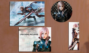 Final Fantasy XIII Lightning Return A4 Puzzle Mouse Pad