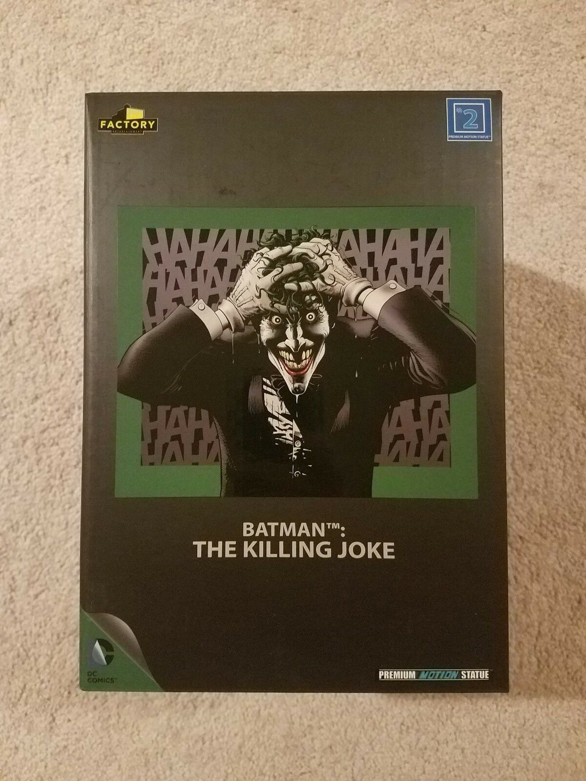 DC Comics Birth of the Joker The Killing Joke Premium Motion Statue