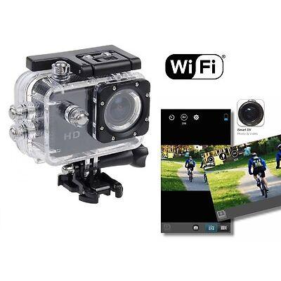 WIFI Full HD 1080P Waterproof HD Helmet Sport Action Video Camera Cam DV
