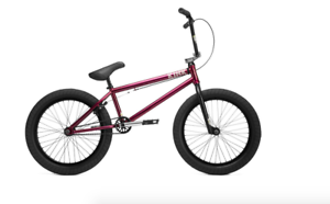 20f9b16bdc8d3f 2019 KINK BIKES WHIP 20.5 GLOSS RASPBERRY RED BMX BIKE 20.5