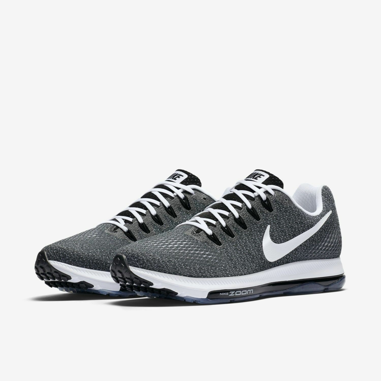 Authentic Nike Zoom 889123 todo gris blanco negro 889123 Zoom 001 hombres tamaño f2385d