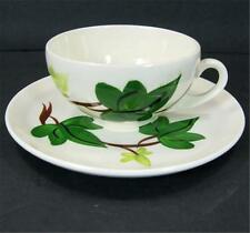 Blue Ridge Southern Pottery Baltic Ivy Cup and Saucer Set