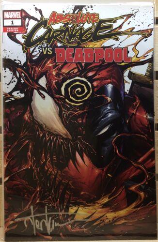 Absolute Carnage Vs Deadpool #1 Signed W//COA