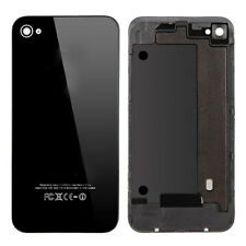 Black Original Battery Housing Door Back Cover Case Repair Parts for iPhone 4S