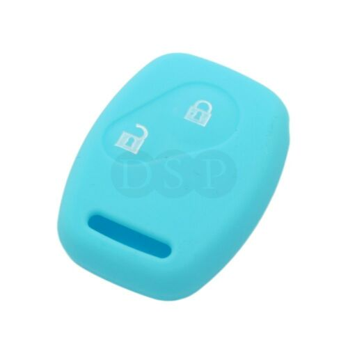 Silicone Cover fit for HONDA Accord Civic Pilot Fit Remote Key 2BTN CV9200LB