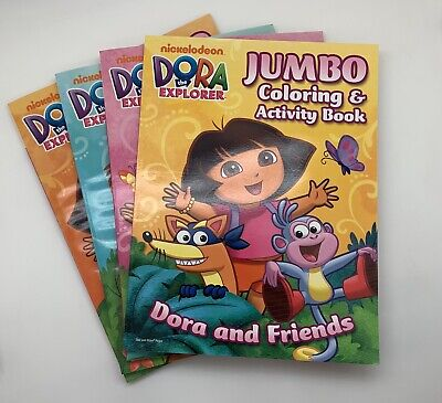 4 Pack Of Dora The Explorer: Coloring And Activity Pad, Book, New  Nickelodeon EBay
