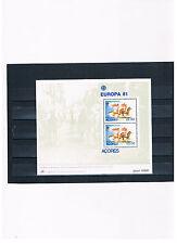 Portugal-Azoren,Block 2,EUROPA CEPT 1981 Folklore,postfrisch!