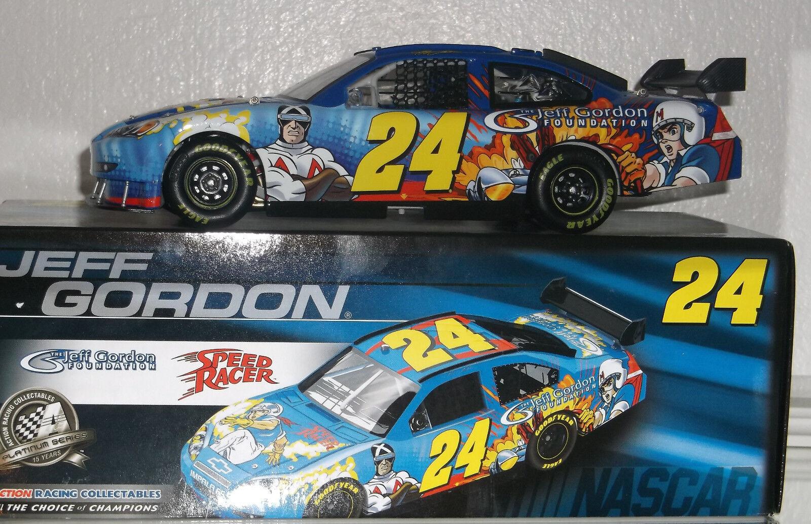 2008 Jeff Gordon Jeff Gordon Fundación Speed Racer 1 24 CAR 5040 Buen