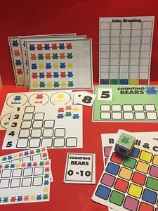 Counting-Bears-Learning-Mats-Laminated-Bundle-Pre-school-Kindergarten