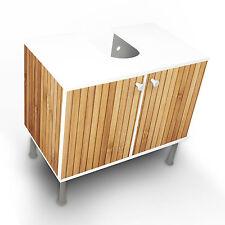 Design Waschbeckenunterschrank Schrank Waschtisch Unterschrank Bambusholz Modern