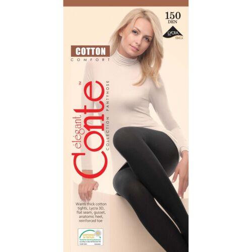 CONTE Tights COTTON 150 DenSoft Warm Winter PANTYHOSE