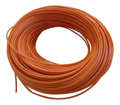 0,42€//m KFZ LKW Kabel Litze Leitung Flexible FLRy 0,75mm² 5m Orange Germany