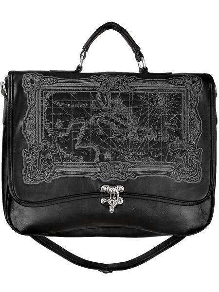 Carribean Sea Tasche Victorian Gothic Satchel Bag Rave Steampunk Kunst-Leder