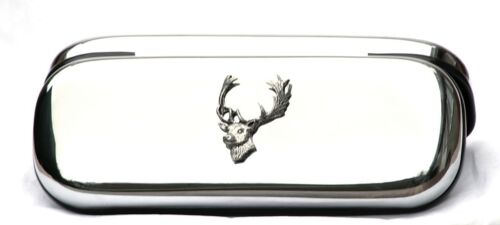 Fallow Deer Glasses Spectacles Case Big Game Shooting Gift FREE ENGRAVING