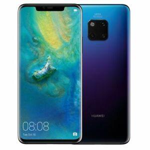 Huawei-Mate-20-Pro-4G-LTE-Unlocked-039-LCD-BURN-039-6-39-034-Twilight-128GB-6GB