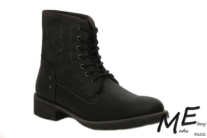 New Steve Madden NEWMANN Leather Men Boots Sz 12 (MSRP )