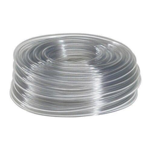 "10 Feet of 1//4/"" Clear Vinyl PVC Tubing High Quality Food Safe Transfer Tubing"