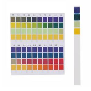 100 Pcs/Box Test Strips ph 0-14 Alkaline Acid Urine/Saliva/Litmus Paper Sticks
