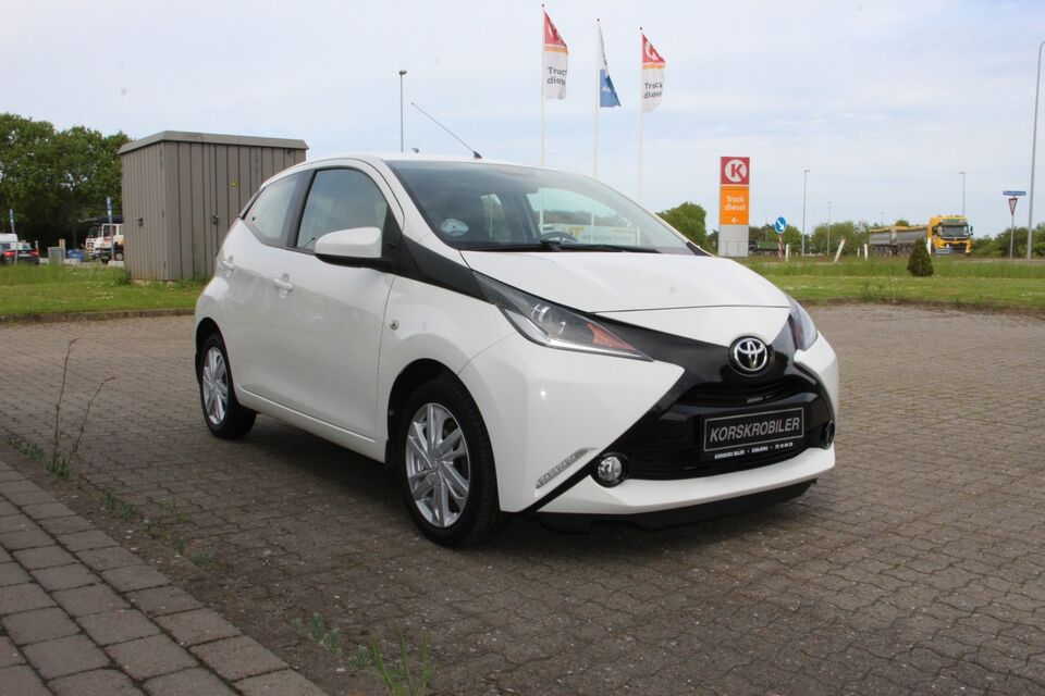 Toyota Aygo 1,0 VVT-i x-press Benzin modelår 2014 km 69000