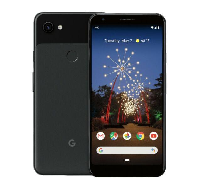 NEW in Box Google Pixel 3a Just Black 64GB Verizon Wireless Android Smartphone