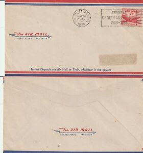 US-1958-COMMERCIAL-FLOWN-COVER-CORDOVA-ALASKA-50th-ANNIVERSARY-SLOGAN-CANCEL