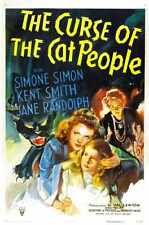 Curse Of Cat People Poster 01 Metal Sign A4 12x8 Aluminium