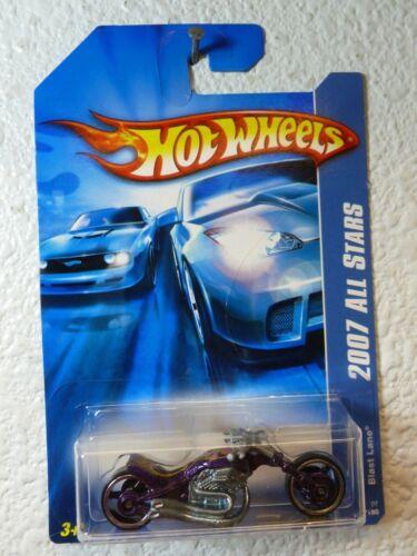 2007 Hot Wheels All Stars BLAST LANE #138 Mf Purple
