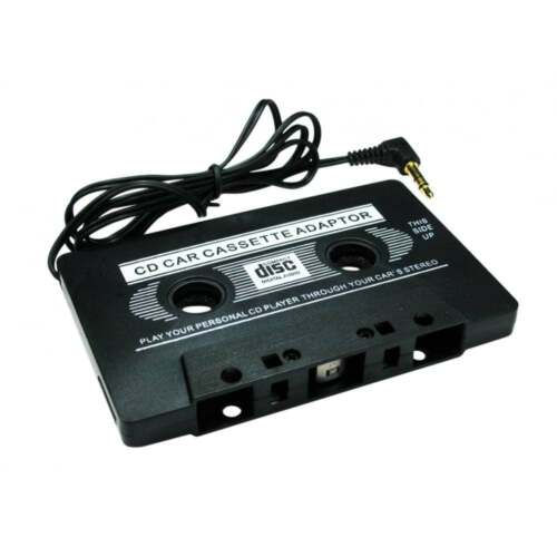 Car Audio Tape Cassette To Jack  AUX For IPOD MP3 IPhone ITouch HTC  3.5 mm