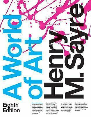A World of Art by Henry M. Sayre (2015, Paperback) Pearson Access Code INCLUDED