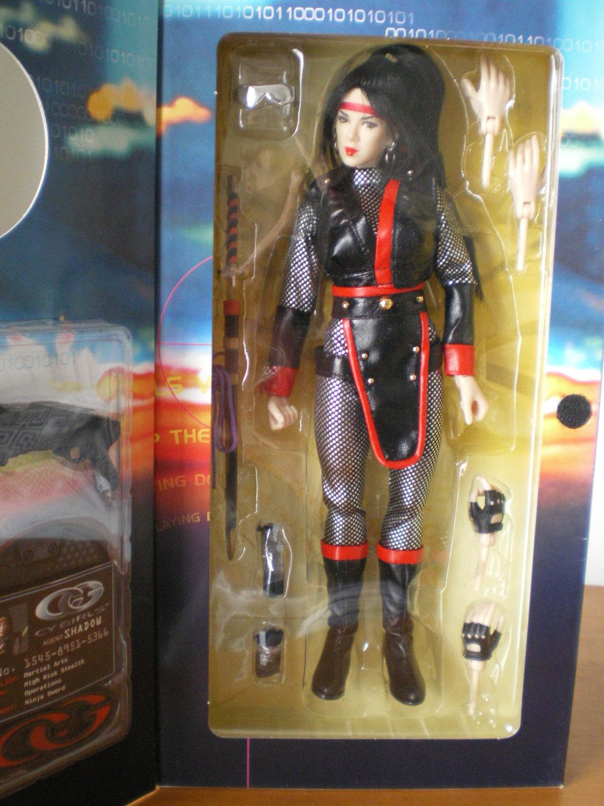 Agent  schatten - 1   6 bbi Blau box cg-06 cy mädchen takara 12 zentimeter