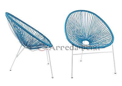 Sedie Da Esterno Design.Poltrona Sedia Seduta Da Esterno Giardino Design Poltrone Poli
