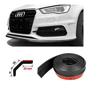 Simoni-Racing-Lip-Splitter-Minigonna-Universale-in-Gomma-Nera