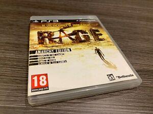Rage Anarchy Ausgabe PS3 IN Spanisch