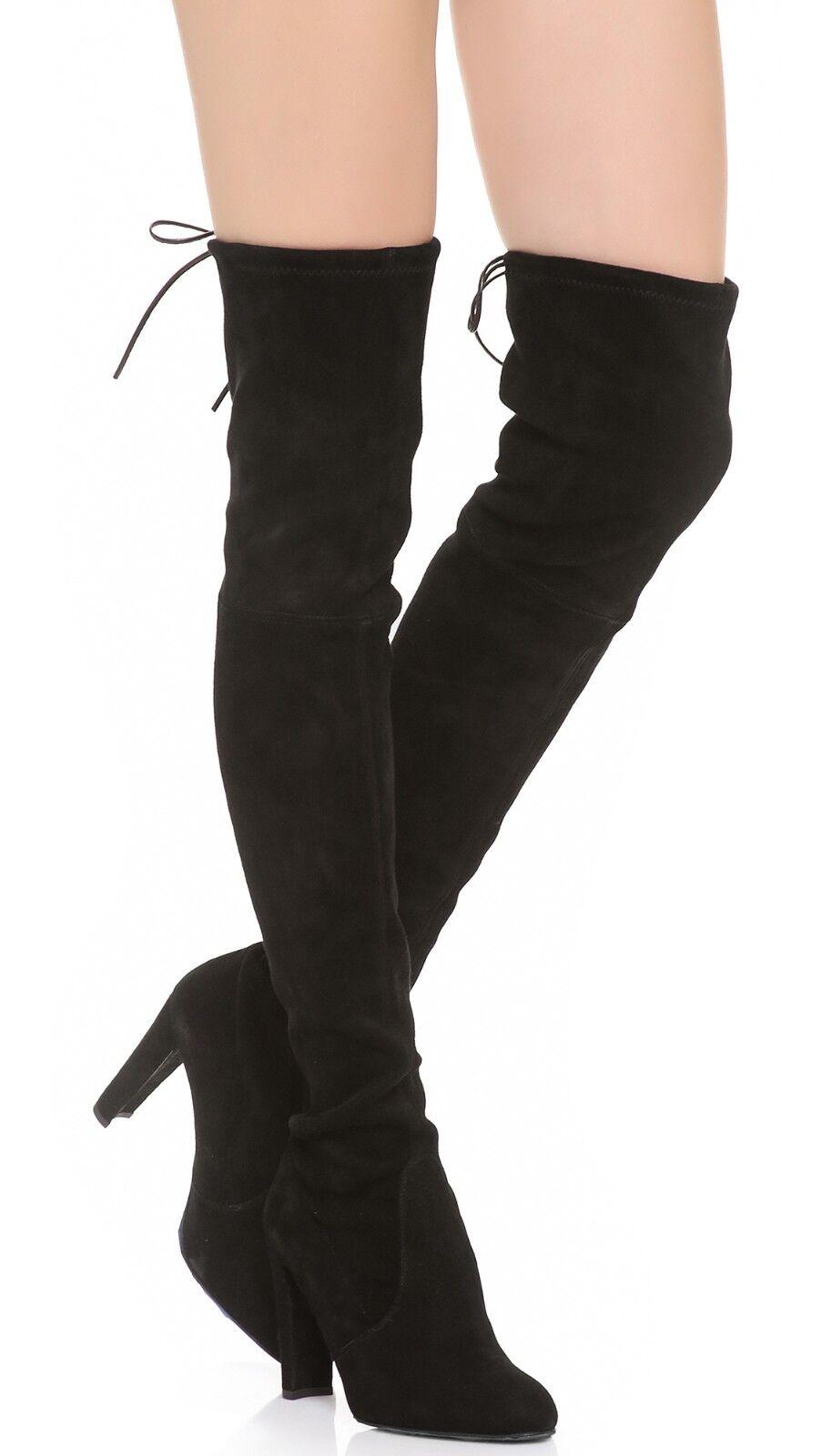 798.00 Stuart Weitzman Highland Over-the-knee Boot Size 9