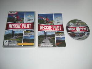PILOTE-de-SAUVETAGE-Mission-Pack-PC-DVD-ROM-Add-on-Flight-Simulator-SIM-X-FSX