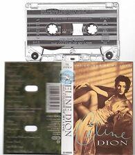 CELINE DION cassette K7 tape THE COLOUR OF MY LOVE
