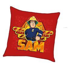 Herding Dekokissen Kuschelkissen Kissen Feuerwehr Feuerwehrmann Sam 40 x 40 cm