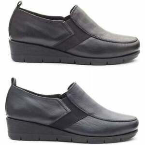 Padders-NOVA-Ladies-Womens-Real-Supple-Leather-Wide-E-Fit-Casual-Loafer-Shoes