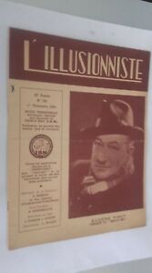 EL ILUSIONISTA Revista Dibujada N º 186 20è Annee 1ER Cuarto 1954 Con ABE