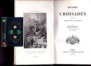 1853-MICHAUD-ET-POUJOULAT-034-HISTOIRE-DES-CROISADES-034-4-GRAVURES