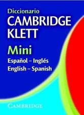 Diccionario Cambridge Klett Mini Español-Inglés/English-Spanish (Engl