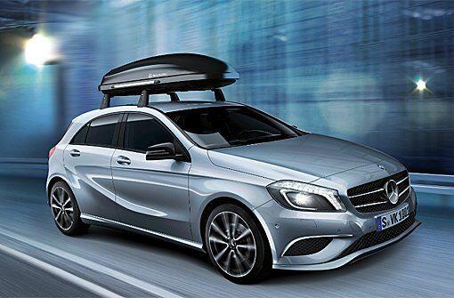Genuine Mercedes-Benz W176 A-Class Quick-Fix Carrier Roof Bars A1768900093