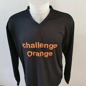 maillot-de-football-challenge-orange-UHLSPORT-taille-xl