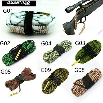 Bore Cleaner .17 .22 Cal .308 .380 Caliber 12 Gauge Rifle//Pistol Cleaning